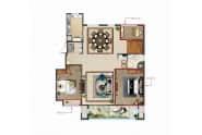 空中官邸A-156-158㎡五室三厅两卫