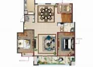 空中官邸小A-152-155㎡五室三厅两卫